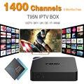 Francês Itália REINO UNIDO DE IPTV Europeu Abonnement Livre Com S905X Android 6.0 1 Smart TV 2G/8G Kodi Miracast Caixa de IPTV Sky Sports