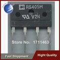 Frete Grátis 10 PCS ponte ponte retificadora plana placa de energia LCD IC RS405 RS405M 4A500V YF0913