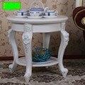 Mesas de café Sala de estar Móveis Para Casa de Móveis mesas de café de estilo Europeu Americano painel + ABS toda venda 60*60*58 centímetros novo