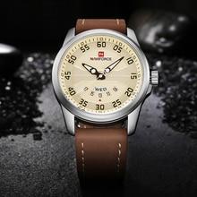 Luxury Brand NAVIFORCE Mens Fashion Sport Watches Men Quartz Clock Man Leather Waterproof Military Wrist Watch relogio masculino