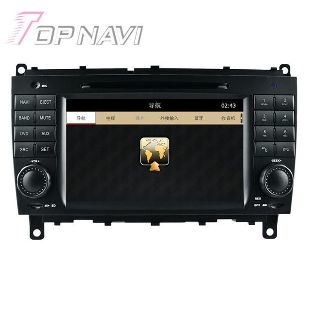 Estremecer Carro Estéreo de Rádio Para Benz CLK W209 (2004-2011) para Benz CLS W219 (2004-2008) Eletrônica do carro Player De Vídeo de Navegação GPS Do Carro
