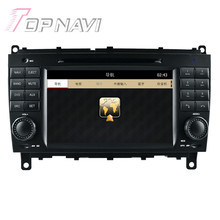 Wince Car Radio Stereo For Benz CLK W209(2004-2011) for Benz CLS W219(2004-2008) Car Electronics Car GPS Navigation Video Player