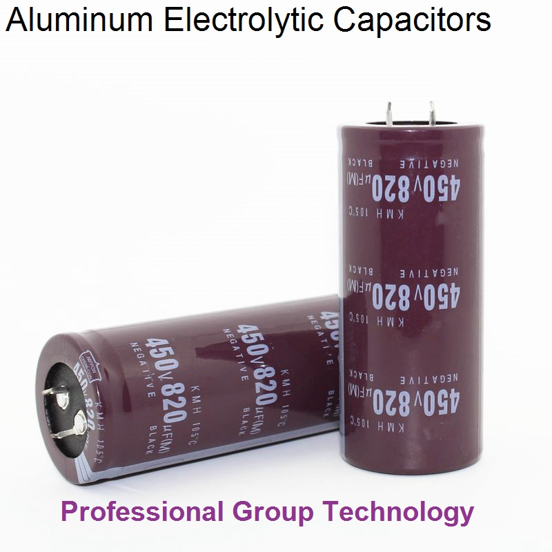 4pcs EC455 Good Quality 450v820uf Radial DIP Aluminum Electrolytic Capacitors 450v 820uf Tolerance 20% Size 35x60MM 20%
