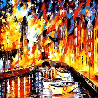 Some Boat Float On The River DIY Painting By Numbers Kits Coloring Painting On Canvas Handpainted