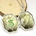 NIANA venta Caliente Slytherin Locket Horrocrux Collar Simple Patrón de la Serpiente Puede Abrir Collar Colgante Película Joyas para Hombres y Mujeres