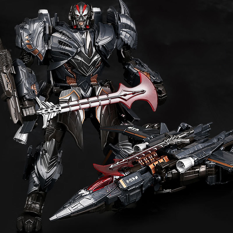 Commander Masterpiece Deformation Toys Alloy Transformation Movie 5 Toy Oversize Robot Action Figure Model Leader Last Knight transformation 5 tra mv5 the last knight optimus prime leader class megatron 2pcs set figure figurine