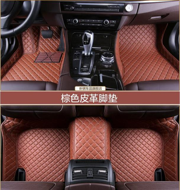 3D Luxury Slush Floor Mats Foot Pad Mat For Honda FIT/JAZZ 2008 2013