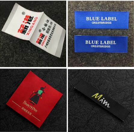 woven clothing labels t shirt tags manufacturer