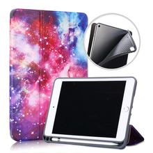 Slim Case for iPad Mini 5 7.9 Tablet Magnetic PU Leather Folding Stand Cover for iPad Mini 5 Case & iPad Mini 4 Tablet Case new three folding tablet case for ipad mini 1 mini 2 ultra thin dormancy tablet holster pu leather cover for apple ipad mini 3