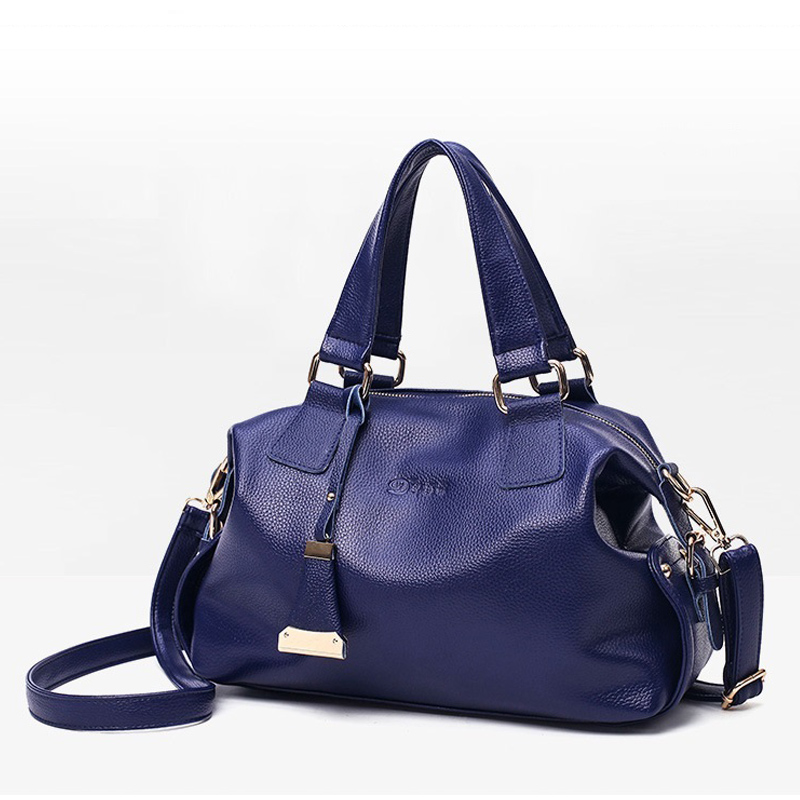 Women Genuine Leather Handbags Famous Brand Tote Bag Designer Handbag Blue Female Messenger Crossbody Bag For Women Bolsos Sac sintir autumn women genuine leather handbags famous brand girls tote shoulder bags designer female crossbody bag bolsos sac main