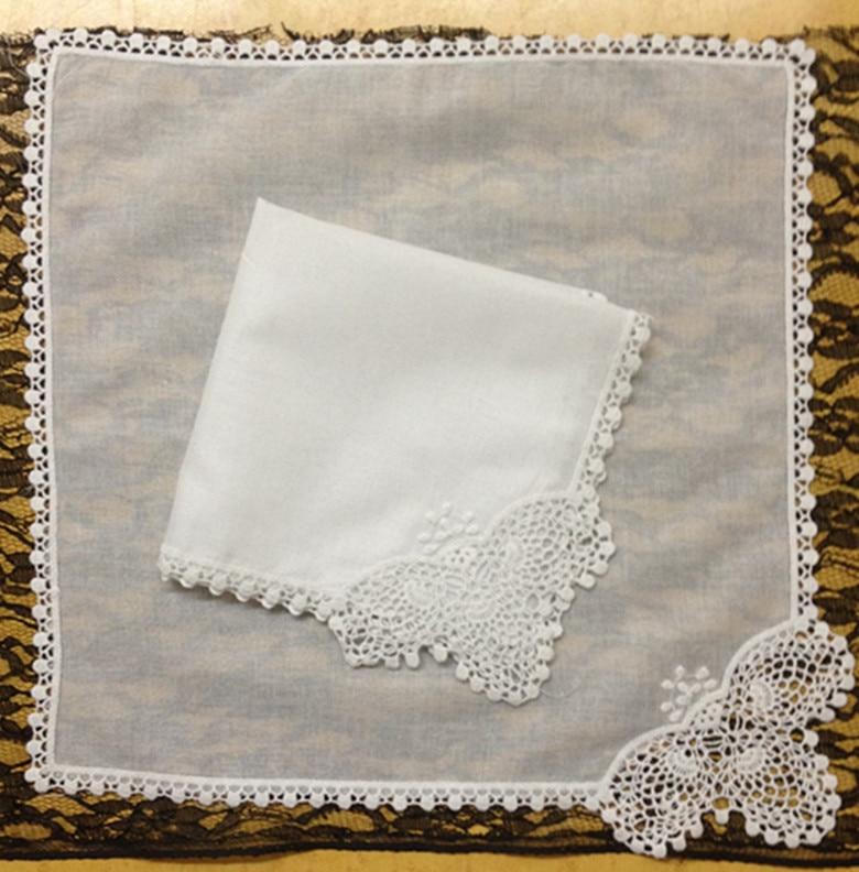 Novelty Women Handkerchiefs 12PCS/Lot 11.5x11.5
