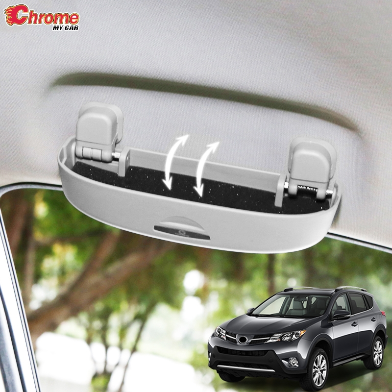For Toyota RAV4 2013 2014 2015 2016 2017 2018 Interior Sunglasses Holder Glasses Case Cage Storage Box Container Car Accessories