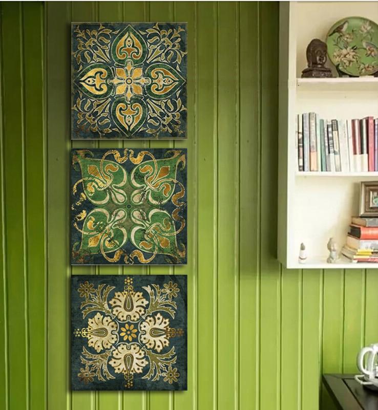 Buy Emerald Indian National Pattern Retro