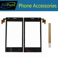 1PC/Lot High Quality For Ark Benefit A1 Touch Screen Digitizer Touch Panel Lens Glass Replacement Part Black Color With Tape