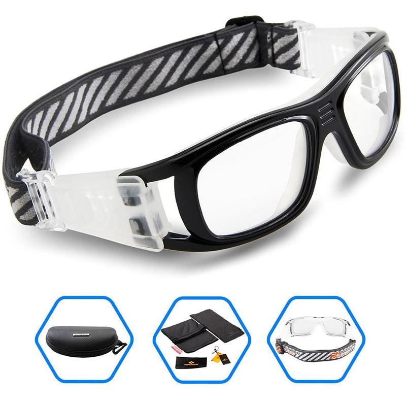 27c213a4e99f 2017 PONOSOON Sports Goggles Mens Basketball Football Soccer Safety Sport  Glasses Protective Eyewear Can Match Myopic Lens