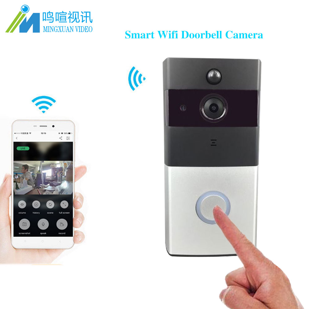 MX video intercom for home 720P Wifi Intercom Doorbell Camera IR Night Vision Motion Detection Alarm Doorphone Door Intercom kinco wifi remote control night vision video doorbell hd waterproof dtmf motion detection alarm smart home for smartphone