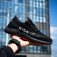 Autumn and winter new plus velvet sports shoes men's warm cotton shoes thickening students trend running shoes wholesale