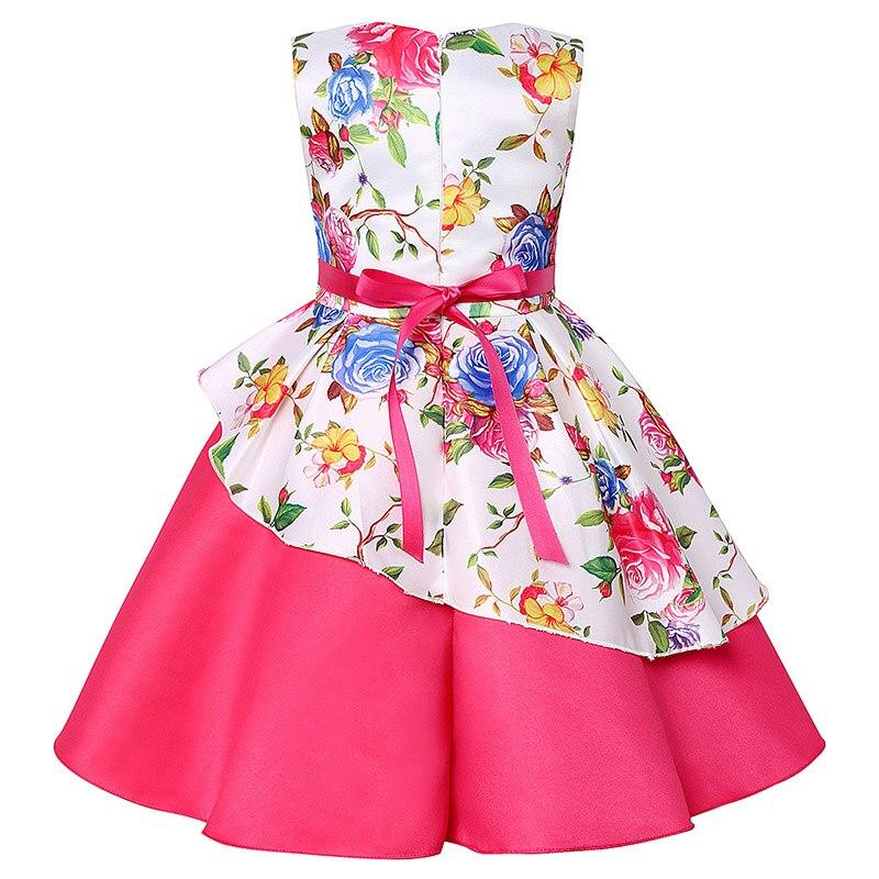 ea190f06c Oso líder vestidos de niñas 2019 nueva marca primavera vestido de princesa para  niños ropa Graffiti