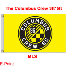 1 piece 144cm*96cm size MLS The Columbus Crew Flying flag A
