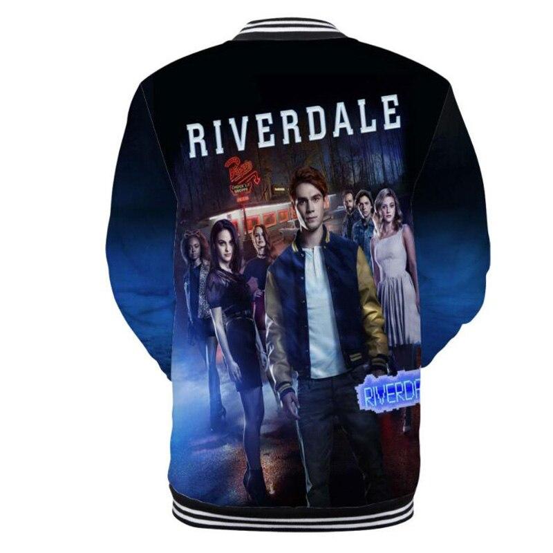 8e1e015d6262b USA Hot TV Show Riverdale South Side Serpents 3D T Shirt Men Poleras ...