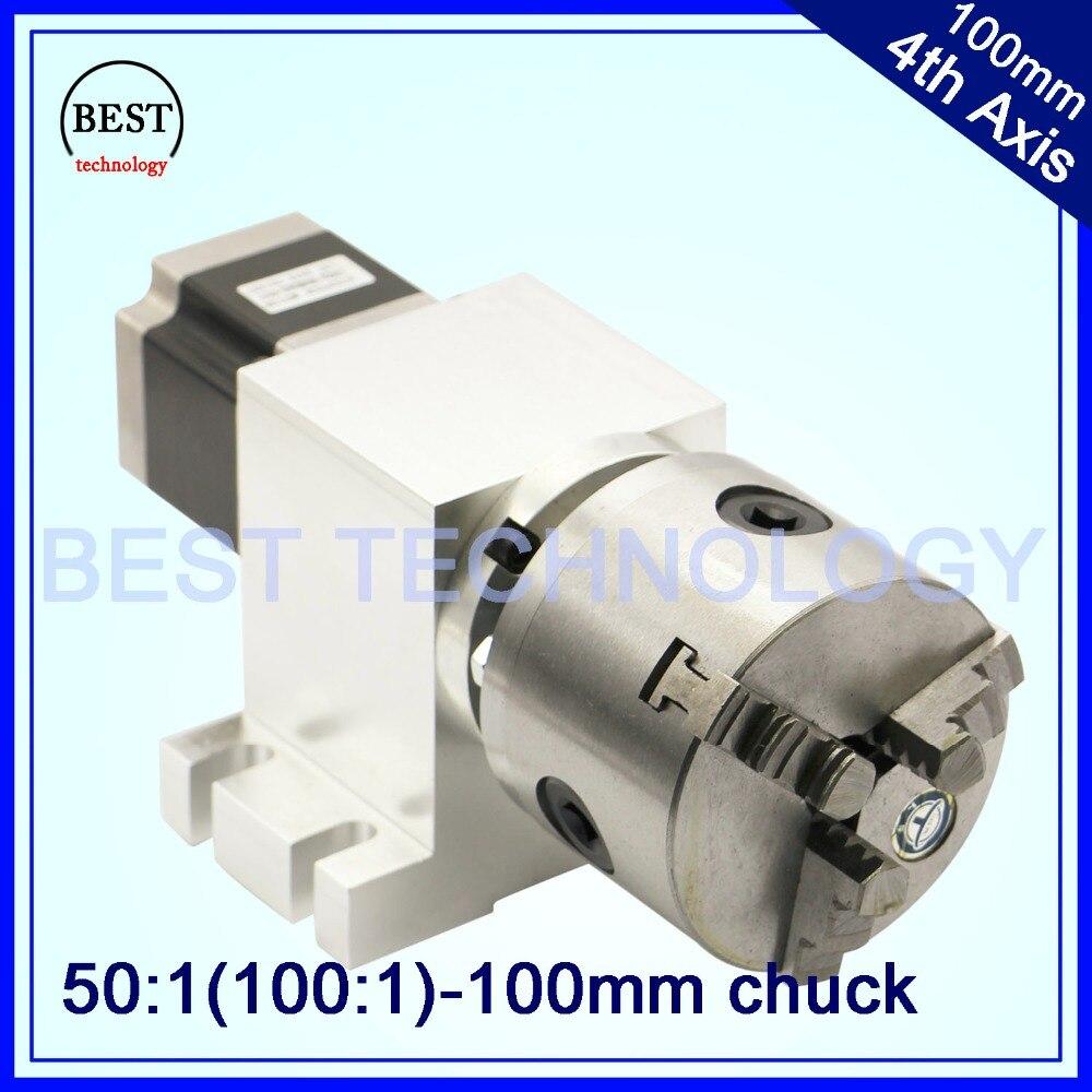 100mm cnc ° asse cnc divisione testa/rotazione asse/asse a kit nema23 gapless harmonic cambio per cnc macchina di falegnameria