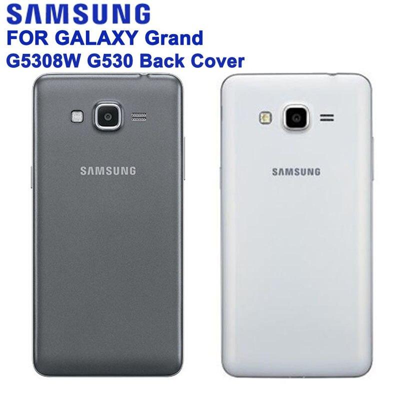 SAMSUNG Originale Dell'alloggiamento Della Copertura Posteriore Per Samsung Galaxy Grand Prime G5306W G5308W G5309W G530F G530H G530 G530FZ G530Y 3 Colori