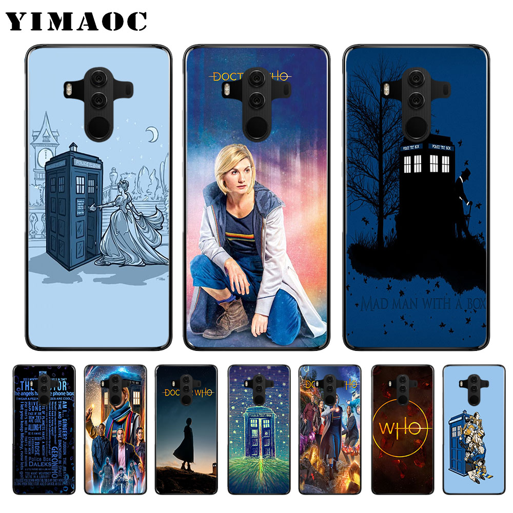 Intellective Yimaoc Doctor Who Soft Case For Huawei Y5 Y6 Y7 Prime Y9 Mate 10 20 Lite Pro Nova 2i 3 3i 4 Lite Fitted Cases