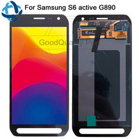 5.1For SAMSUNG GALAXY S6 Active LCD Display Touch Screen Digitizer G890 G890A SM G890 Assembly Replacement For SAMSUNG G890 LCD