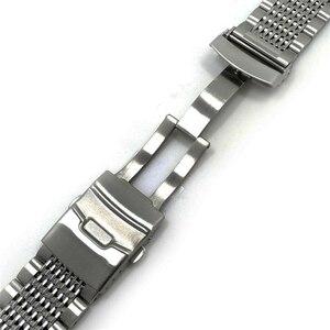 Image 3 - Vintage Konsept Dalış saat kayışı 22mm Geniş Ayarlanabilir Uzunluk Erkekler Paslanmaz çelik bileklik san martin izle vb