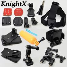 KnightX FOR GoPro Hero SJ Cam Other Action Cameras Floating Hand Grip Mount Accessory FOR go pro hero 6 FOR gopro hero 5 4(China)
