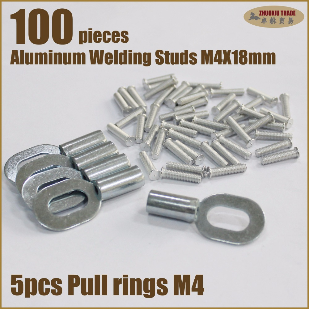 stud welding remove dents car body repair tool aluminum capacitor discharge CD weld studs screw bolt pulling removal spot welder 500pcs stud welder draw pin set for removing dents car body sheet metal 2 0mm