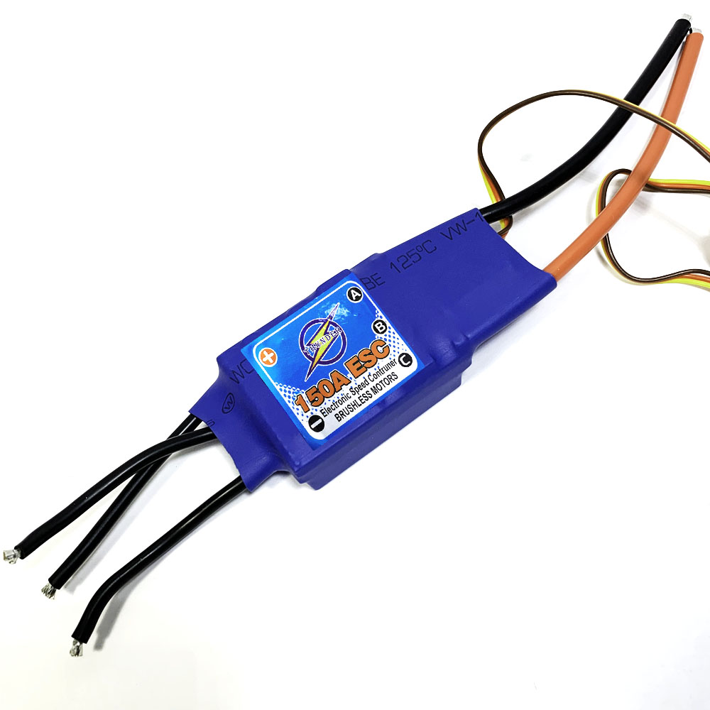 BJT 150A 2-6S brushless Motor ESC speed controller for DIY RC model With 5V 10A BEC RC airplane electronic accessoryBJT 150A 2-6S brushless Motor ESC speed controller for DIY RC model With 5V 10A BEC RC airplane electronic accessory