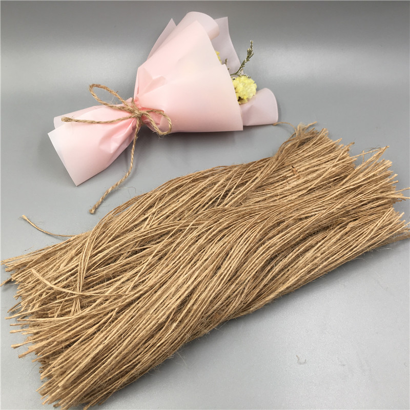 600Pcs 20cm One-Strand Hemp Rope For Jewelry/Tag/Garment/Gift Box/Cup/ Decor Packaging Hang Natural Hemp Strings