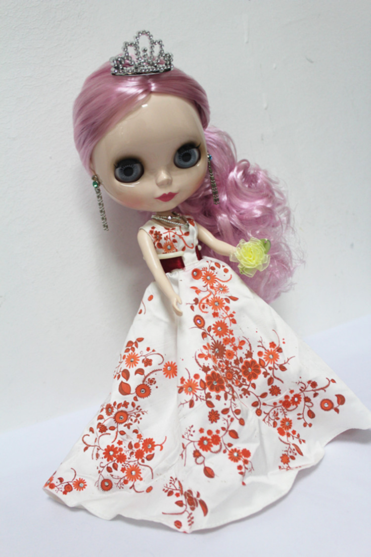 Free Shipping big discount RBL-156DIY Nude Blyth doll birthday gift for girl 4colour big eyes dolls with beautiful Hair cute toy free shipping big discount rbl 288diy nude blyth doll birthday gift for girl 4colour big eyes dolls with beautiful hair cute toy