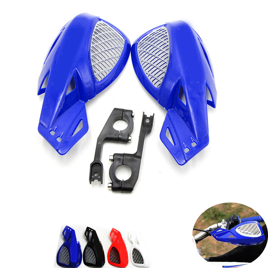 2 шт. мотоцикл рукавицы ручной гвардии защитные подходит мотоцикл мотокросс универсальные пластиковые 22мм для Honda XR250 250 ОФД 250Л CRF1000