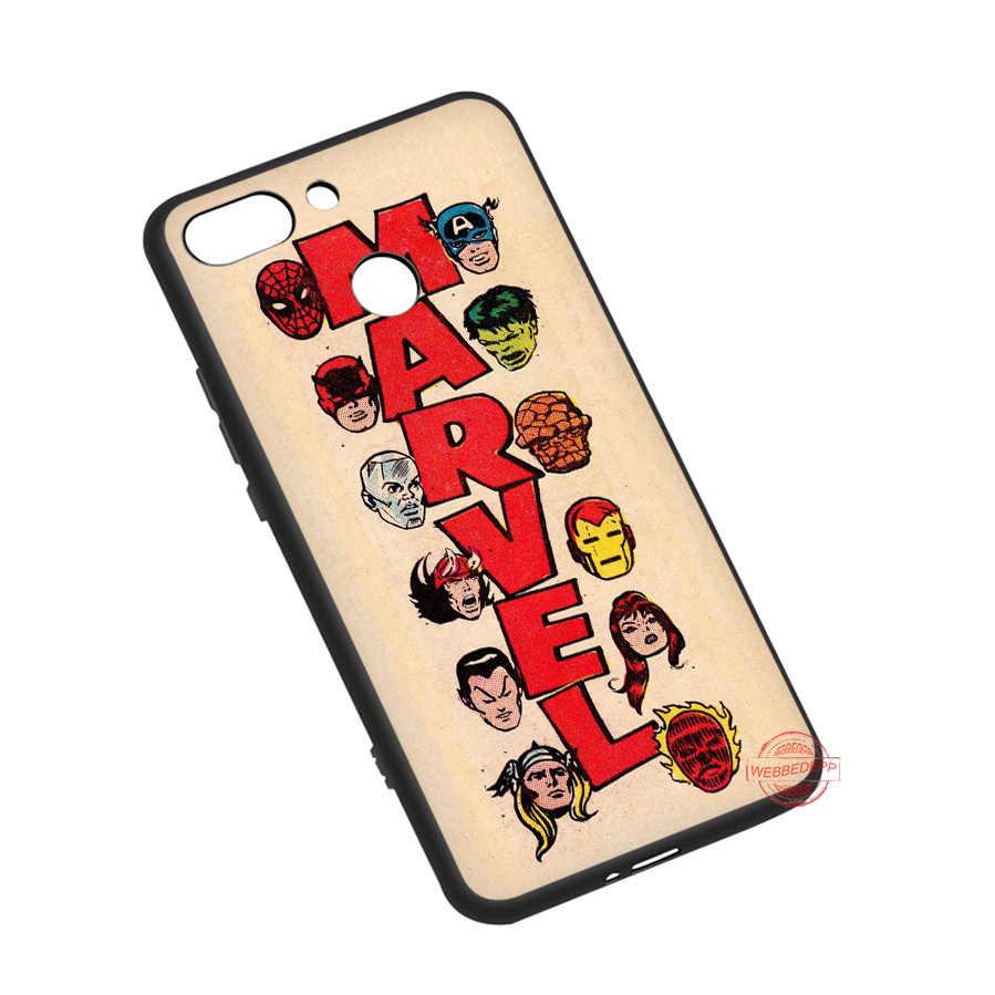 WEBBEDEPP مارفل الأبطال الخارقين المنتقمون لينة جراب هاتف ل Redmi نوت 8 7 6 5 برو 4A 5A 6A 8A 4X5 زائد S2 حالات