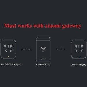 Image 5 - Xiaomi Nhà Thông Minh Mijia Ổ Cắm Thông Minh Wifi Ổ Cắm Không Dây Zigbee Điều Khiển Công Tắc Đèn (Phải Phù Hợp Với Xiaomi Cửa Ngõ sử Dụng)