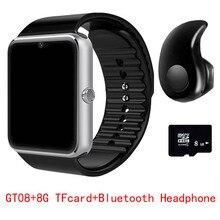 2017 Hot GT08 Bluetooth Smart Watch Sync Notifier Clock Connectivity Android Phone font b Smartwatch b