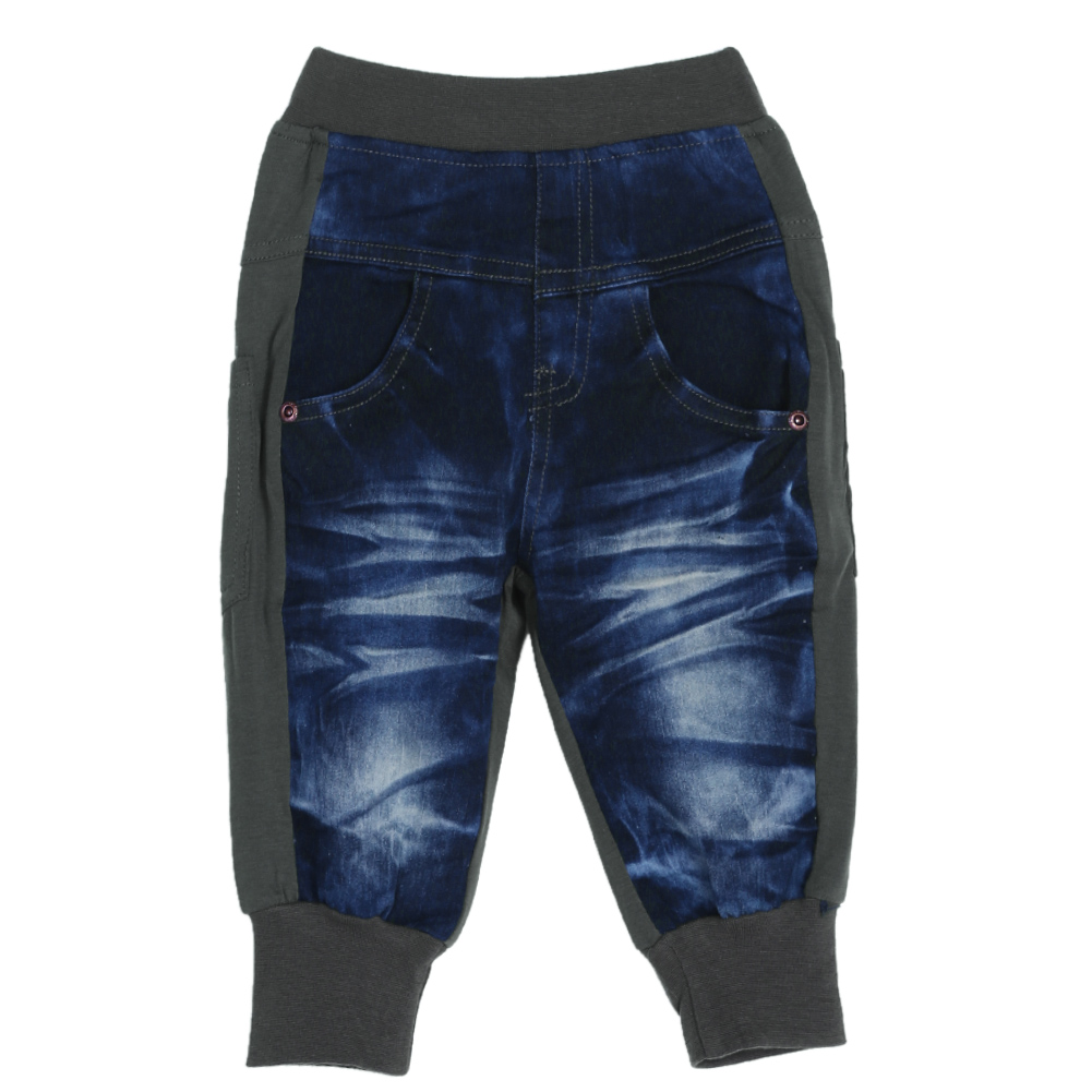 Baby Children Boys Jeans Kids Cool Washing Denim Pants Toddler Girls All Match Pants Children Clothes
