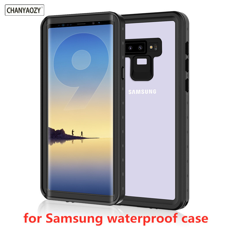 360 Full Protection Waterproof bag Phone Case for Samsung Galaxy note 9 8 S8 S9 Plus