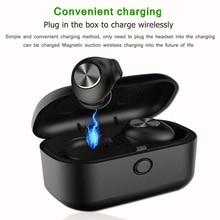 L18 Bluetooth V5.0 мини ушной Беспроводной гарнитура bluetooth аурикулярная auriculares con Каха де carga de para todos