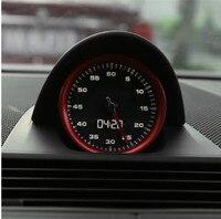 Aluminium alloy For Porsche Panamera 2017 18 Center Control Compass Ring Decoration Cover Trim Car Interior Accessories