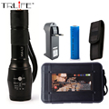 LED CREE XM-L2 Flashlight 6000LM Torch Aluminum Zoomable Tactical Flashlight Camping Lamp For 3XAAA or 18650 Battery
