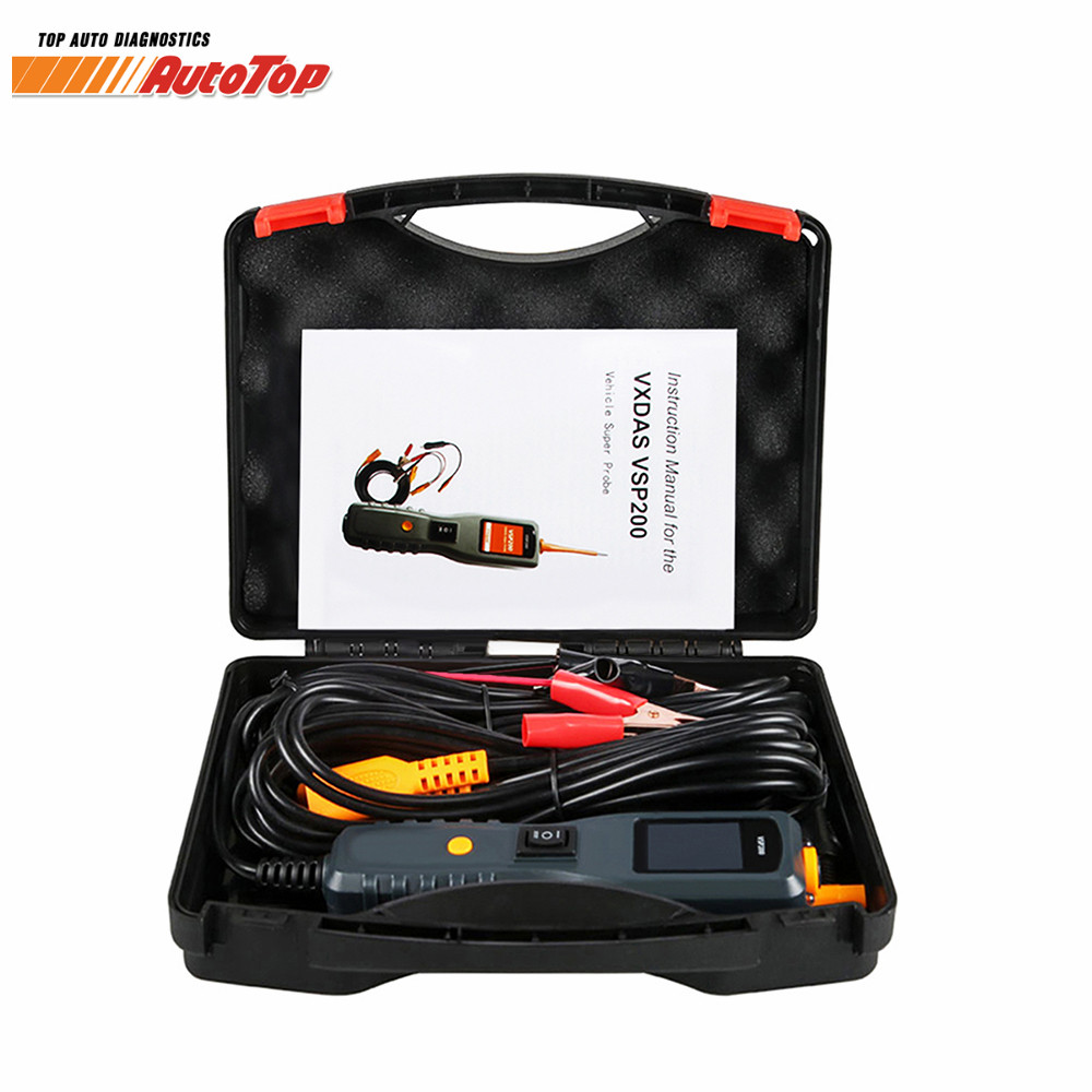 все цены на High Quality VXDAS VSP200 Vehicle Super Electrical Systems VSP200 Vehicle Super Probe Kit Diagnostic-Tool Free Shipping онлайн