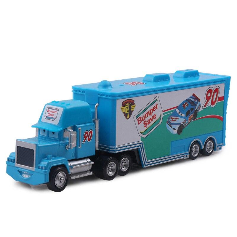 Дисней Pixar Тачки 2 3 игрушки Молния Маккуин Джексон шторм мак грузовик 1:55 литая модель автомобиля игрушка детский подарок на день рождения - Цвет: No.90