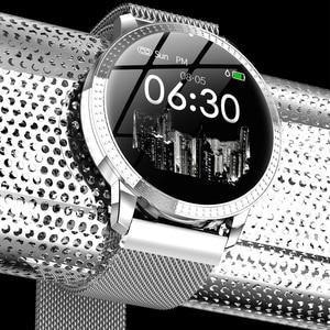 Image 5 - Montre bracelet pour hommes, moniteur de pression artérielle du sommeil, étanche, podomètre, calories, sport, téléphone Android, luxe, montre pour femme