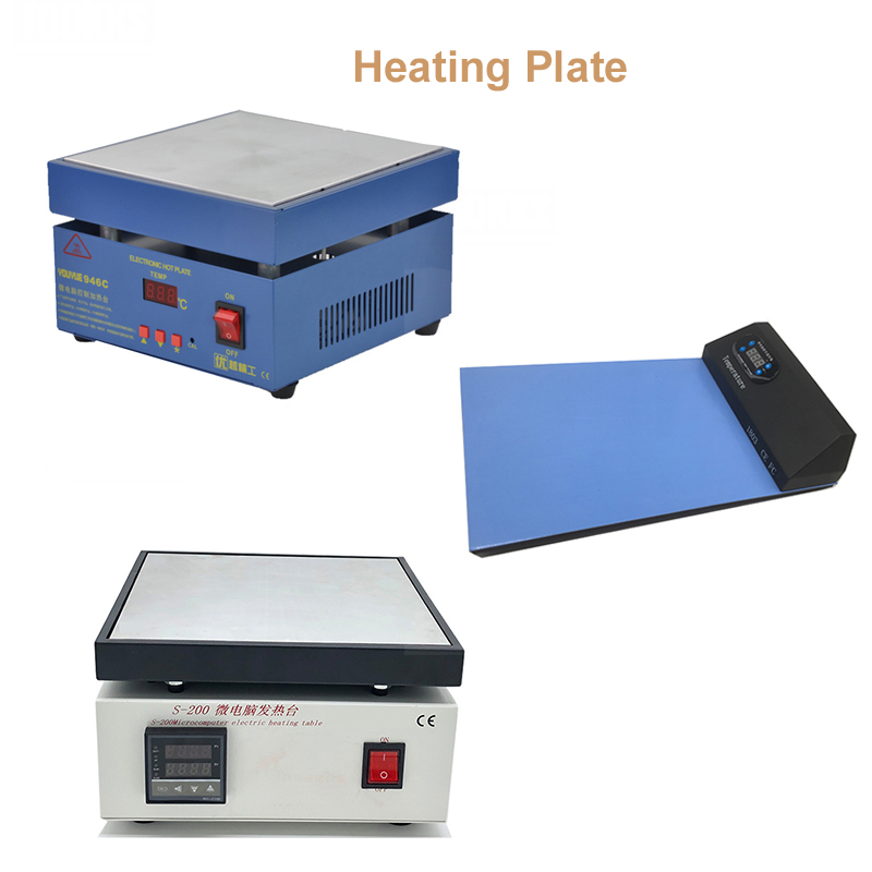 Electric Heating Table Preheating Plate For Phone LCD Touch Screen Separate For PCB SMD BGA Heating Desoldering