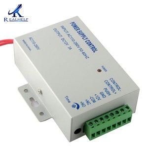 Image 3 - דלת חשמלית מנעול אספקת חשמל AC 110 240V פופולרי בקרת גישה מערכת
