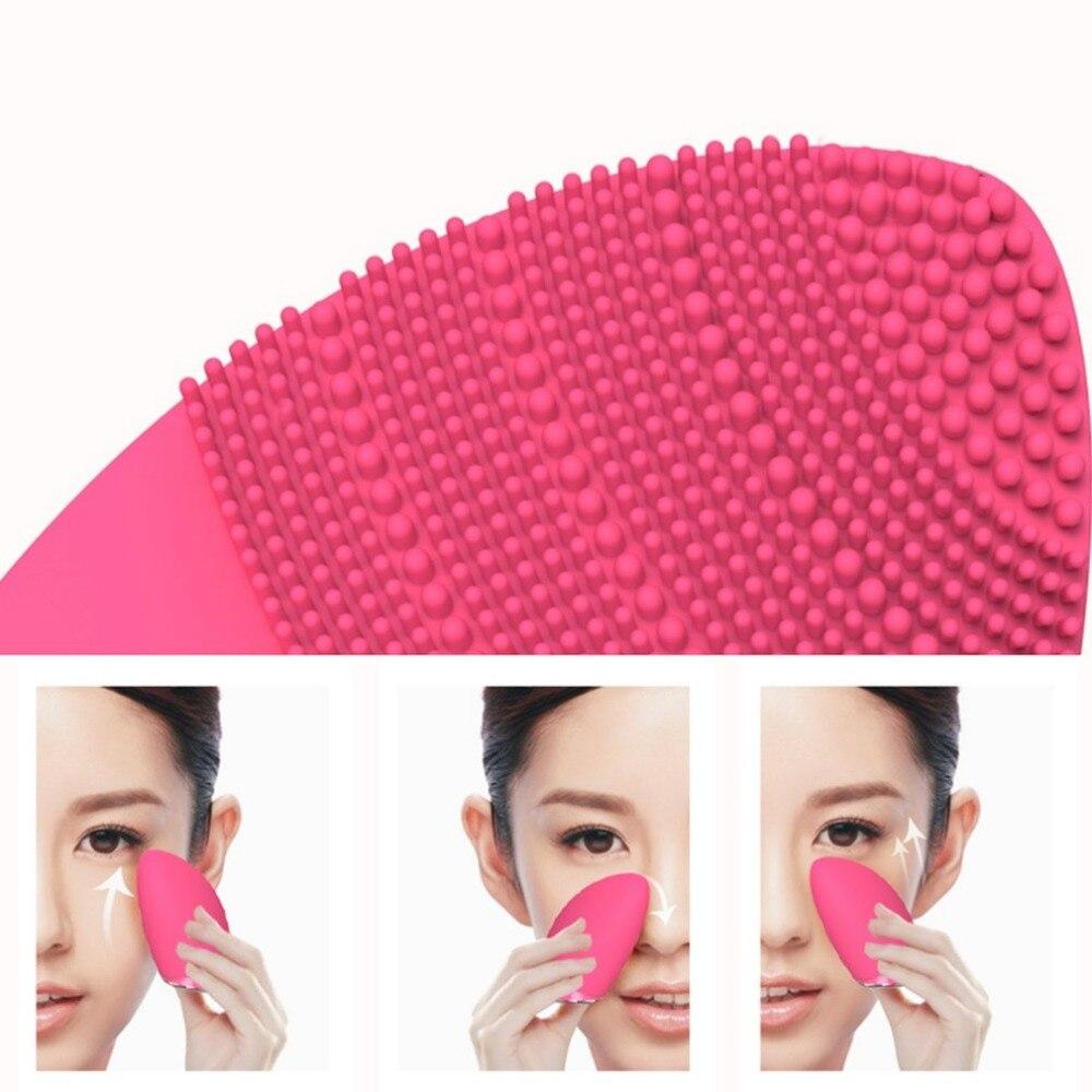 BCM-1057 Ultraschall Gesichts Pinsel Reiniger Silikon Reinigung Gerät Wasserdichte Haut Hautpflege Spa Massager Schönheit Instrument