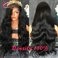 Top 7A Best Quality Human Hair Cheap Lace Front Wigs Brazilian Virgin Hair Full Length Thick Body Wave Glueless Full Lace Wig